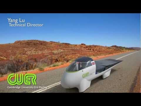 CUER World Solar Challenge 2013 Design Launch