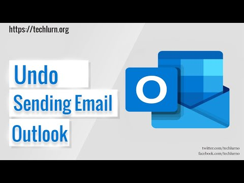 How To Unsend An Email In Outlook Web?