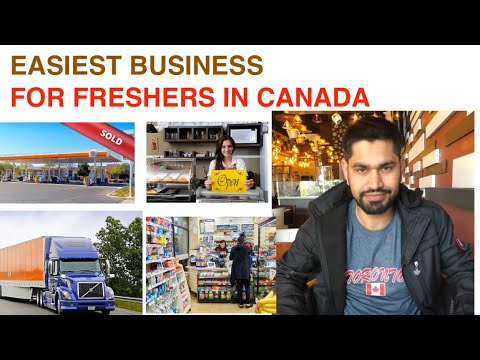 EASIEST BUSINESS TO START FOR FRESHERS IN CANADA