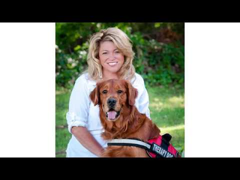 Andi and Kenny  - Certified Therapy Dog from Berks County Lands National Calendar Day