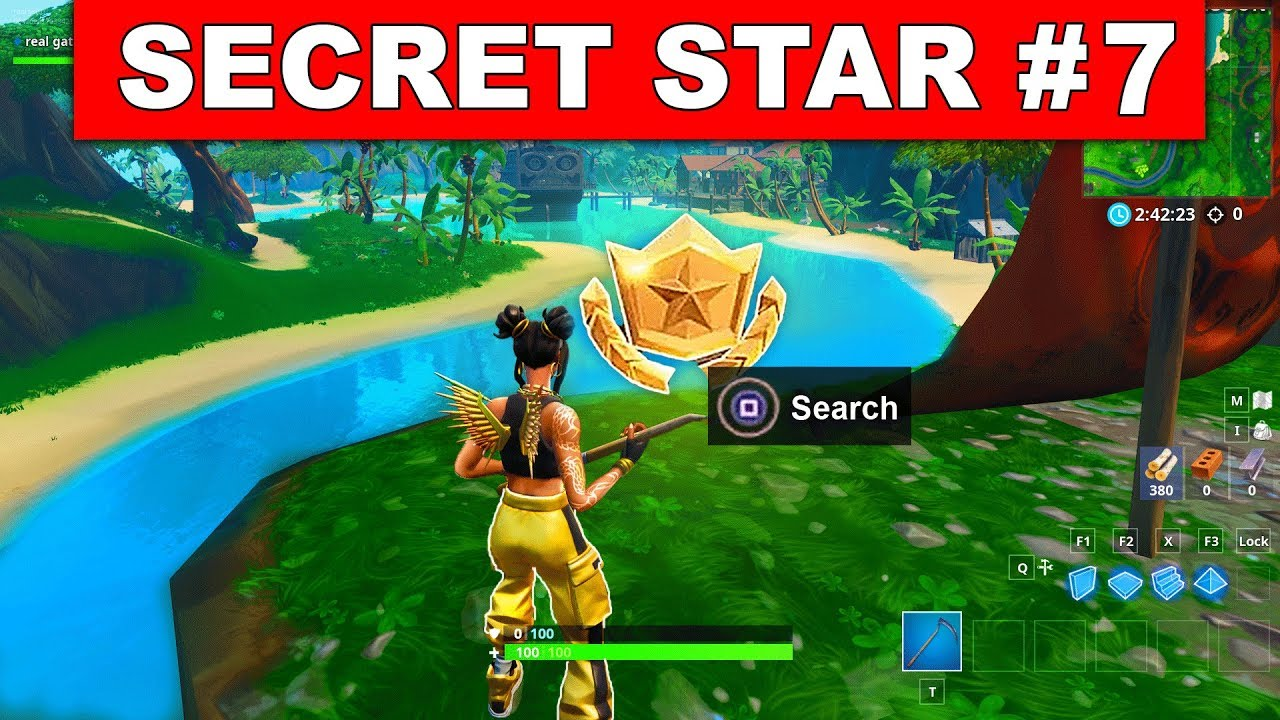 Week 7 Secret Battle Star Location Guide Fortnite Find The Secret
