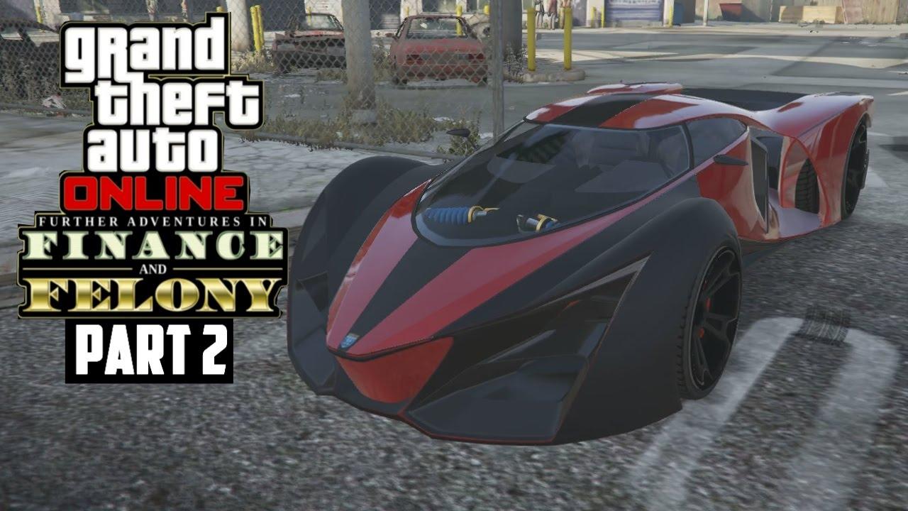 GTA 5 \u0027\u0027FINANCE AND FELONY PART 2\u0027\u0027 FERRARI X80 PROTO!! (GTA 5 Online DLC)