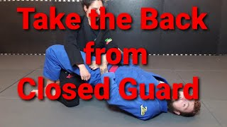 """Take the Back from Closed Guard"" Toro BJJ Move of the Week"