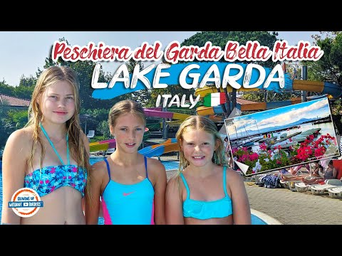 DISCOVER LAKE GARDA ITALY | CAMPING BELLA ITALIA IN PESCHIERA DEL GARDA ITALY