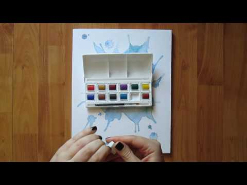 Tiger Watercolors and Paper First Impression Video