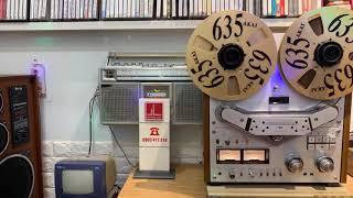 Akai GX-635D núm đỏ phát nhạc liên khúc Tuấn Vũ ☎️0903411318🤝💐