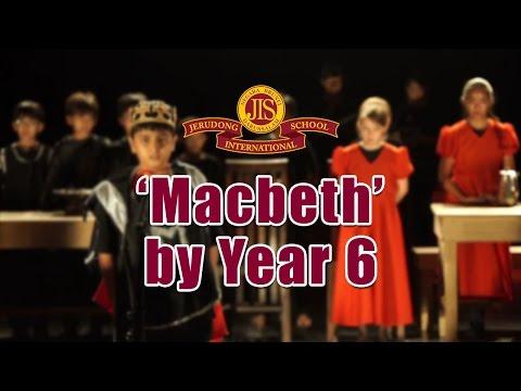 'Macbeth' performed by Year 6 - Jerudong International School (JIS Brunei)