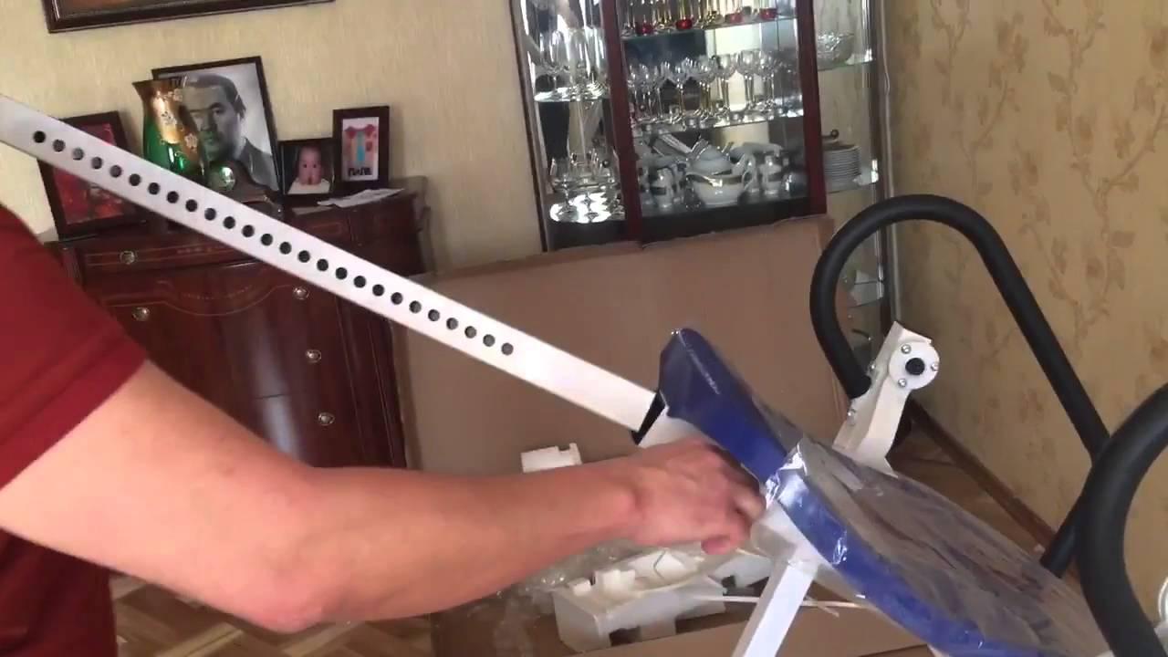 Самые сложные упражнения на пресс - Инверсионные ботинки - YouTube