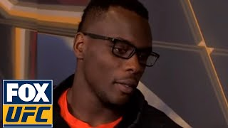 Ovince Saint Preux with Megan Olivi after weigh-in in Japan | Interview | UFC FIGHT NIGHT