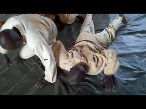 Self-défense Congo Brazzaville: stage de Dolisie par maitre Manassé 3e dan jujitsu