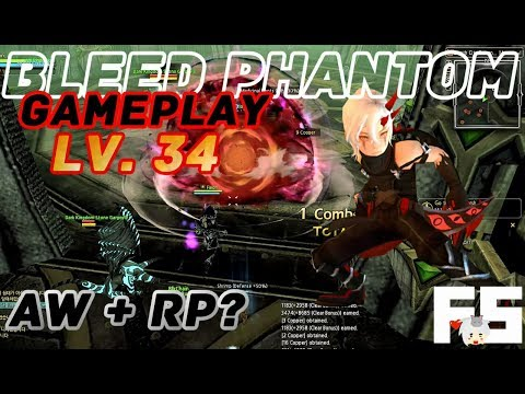 Dragon Nest Korea : Bleed Phantom Gameplay Lv. 34 (Assassin Spin Off Class)
