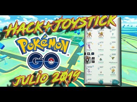 Hack+Joystick POKEMON GO Julio 2019