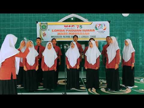 Tim Padus Mars Madrasah Man 1 Lotim Kemenag Lombok Timur