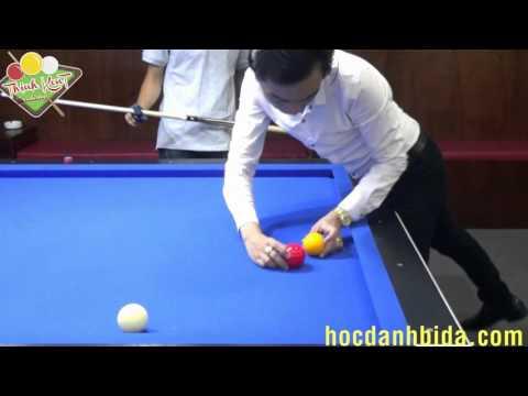 Carom Solution 4 : Sanglee Shot- Kĩ thuật Xăng - Li gom bi Part 1