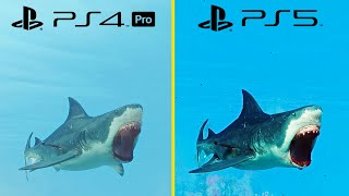 Maneater PS5 Vs PS4 PRO Graphics Comparison + Performance Test (PS5 Optimized)