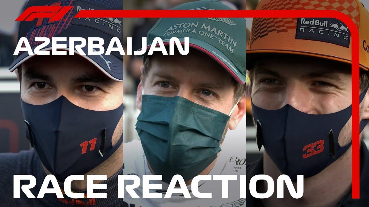 Réflexion sur une finition dramatique!  Entretiens post-course des pilotes    Grand Prix d'Azerbaïdjan 2021