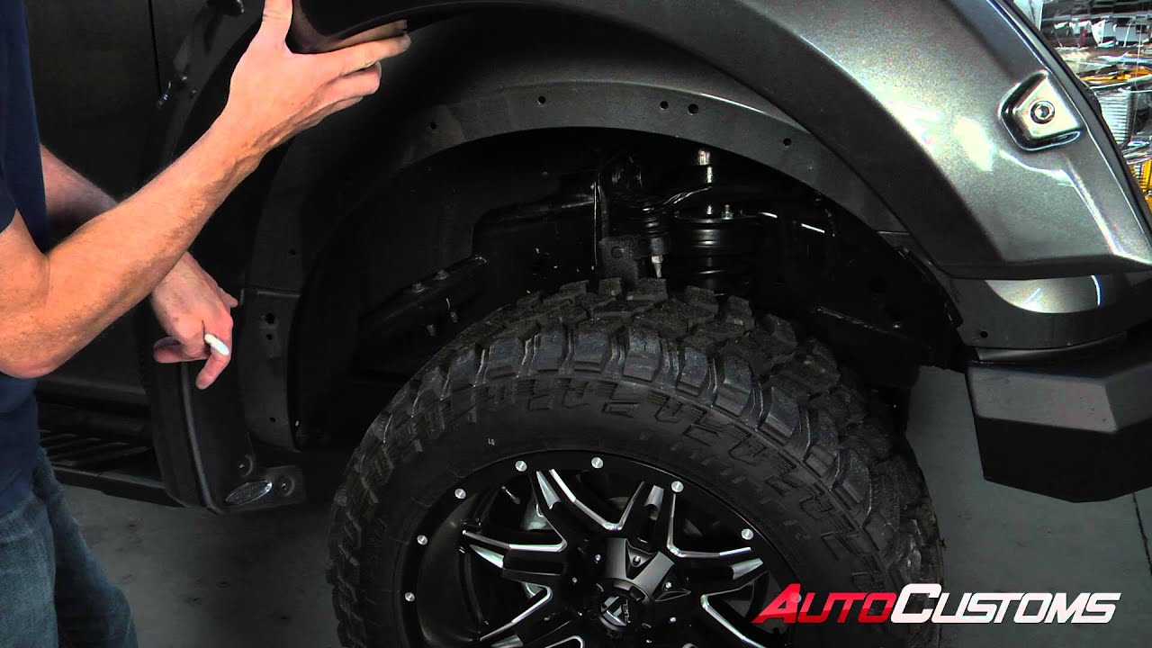 How To Install Bushwacker Pocket Style Fender Flares At AutoCustoms