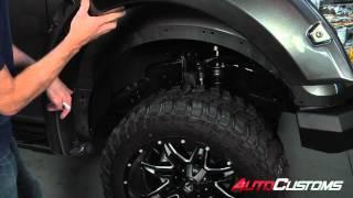How To Install Bushwacker Pocket Style Fender Flares At AutoCustoms.com