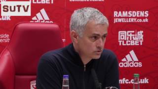 """Jose Mourinho: """"WHY SHOULD I SAY SOMETHING TO DOWNING?"""" MID 1-3 MU - Post-Match Press Conference"""