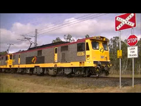 Very Long Queensland Coal Train