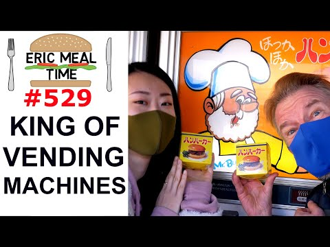 Food Vending Machines Paradise - Eric Meal Time #529
