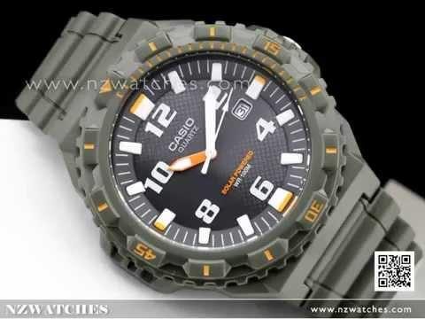 Casio Solar Analog 100M Military Green Watch MRW-S300H-3BV 2cca5f71fab8