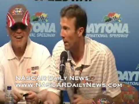Post Duel Race: Kyle Busch, Joe and JD Gibbs part 1