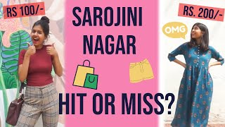 I Wore Clothes from SAROJINI NAGAR For A Week | Sejal Kumar