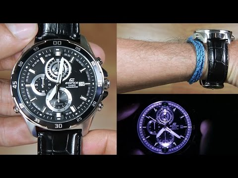 how to set time on casio edifice ema 100