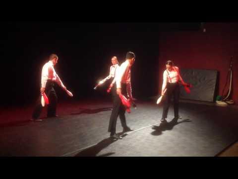 Fosse - Tango group juggling - Cabaret 2017