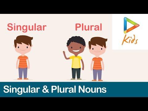 Singular And Plural Nouns | English Grammar | Phonics Lessons I For Kids
