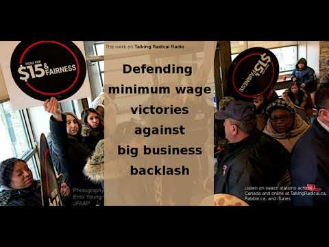 LISTEN: Defending minimum wage victories from big business backlash