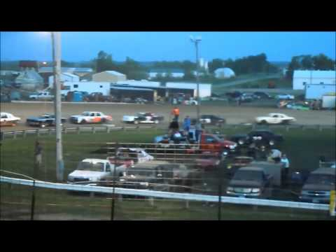 5/26/14 Amain for the Sheyenne River Speedway Hobby stock