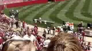 Alabama A-Day 2008! Stadium View!