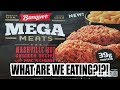 Banquet MEGA Meat Nashville Hot Fried Chicken - WHAT ARE WE EATING?? - The Wolfe Pit