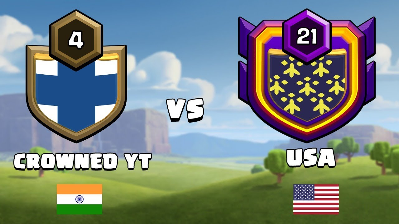 India vs USA Live Clan War | Clash of Clans - COC @Sumit 007