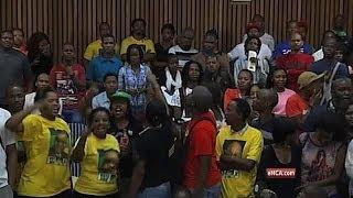 ANCYL students disrupt Malema address at UKZN