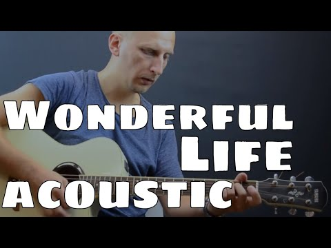 Black - Wonderful Life (Acoustic Cover)
