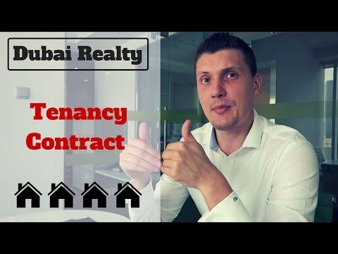 Dubai Real Estate: Tenancy Contract.
