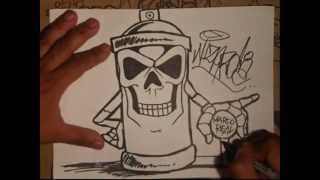 skull spraycan characters by wizard.mp4