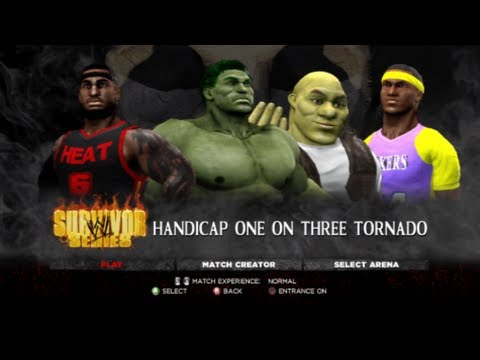 NBA 2K13 : Kobe Bryant fights Lebron James?! (WWE 13) Travel Video