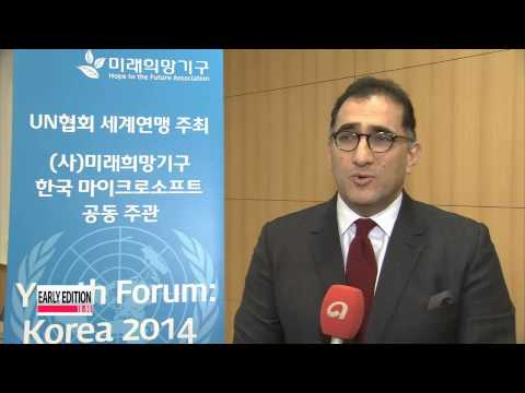 Korean students tackle global issues with grace at Model UN forum in Seoul