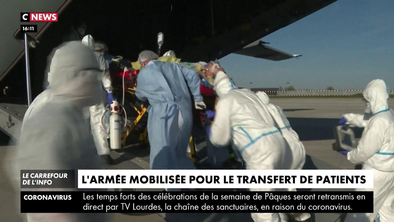 L'armée mobilisée pour le transfert des patients