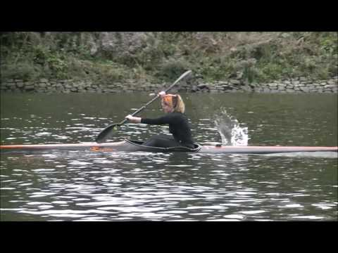 Richmond canoe club training