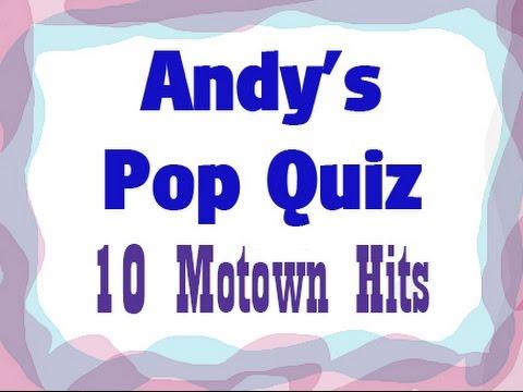 Pop Quiz No9 - 10 Motown Classic Hits