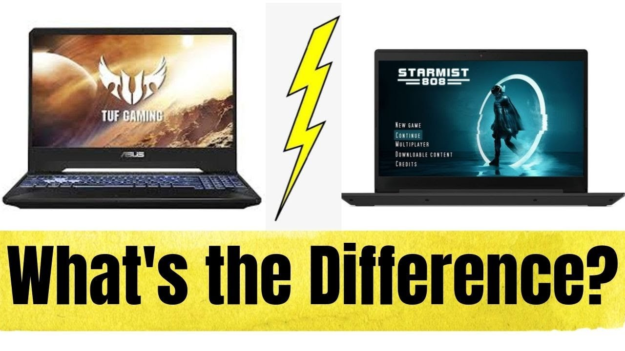 Asus Tuf Fx505dt Vs Lenovo Ideapad L340 Best Budget Gaming Laptop Intel Vs Amd Asus Vs Lenovo Youtube