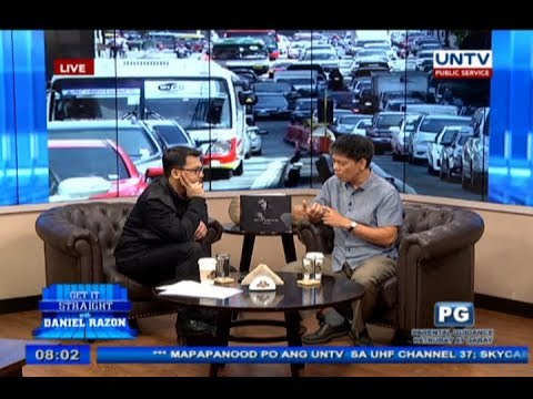 Live social experiment on taxi vs TNVS ride with LTFRB chair