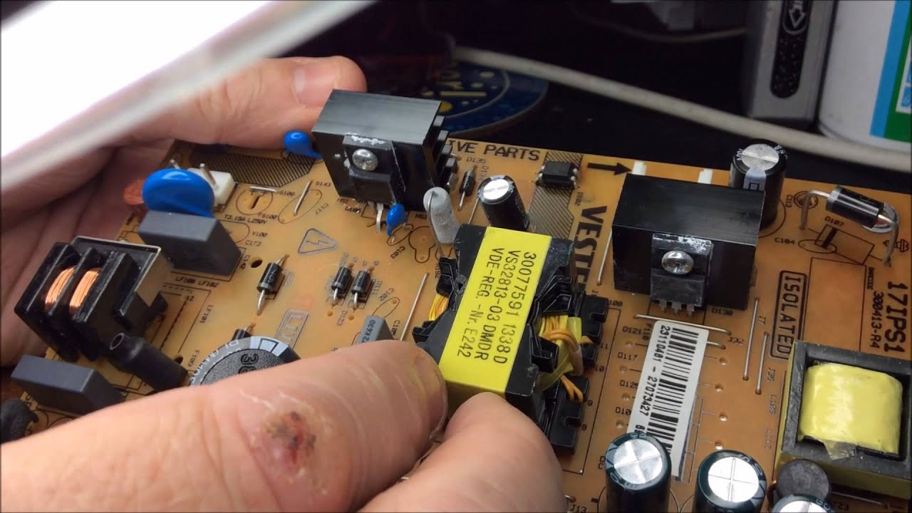 steve ll fix it s01e06 backlight toshiba 32w1333db 32 lcd tv [ 1280 x 720 Pixel ]