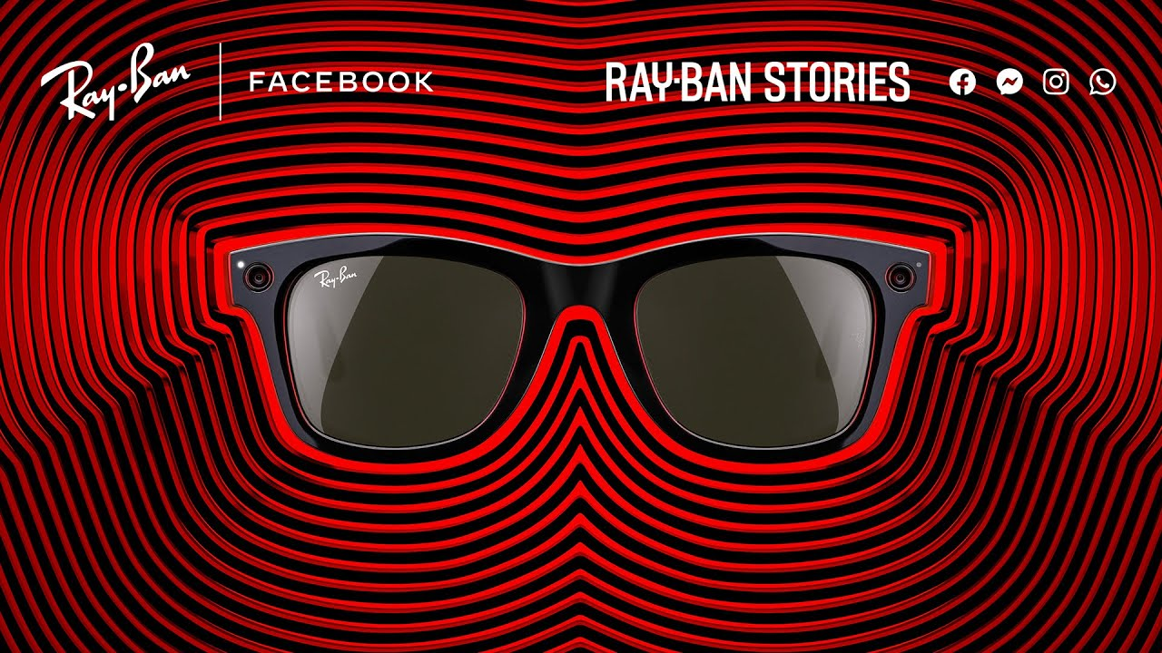 Welcome back to the moment. With Ray-Ban x Facebook