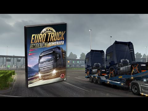 Euro Truck Simulator 2: New Scania trucks delivery across Scandinavia
